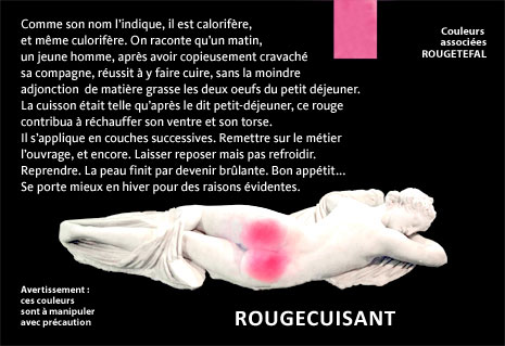 Rue Bricabrac, bdsm, couleur
