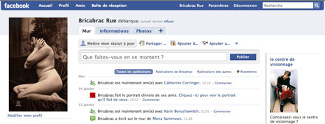 Rue Bricabrac, bdsm, facebook