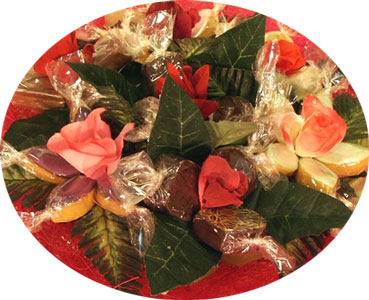 Rue Bricabrac, bdsm, fleurs, chocolats