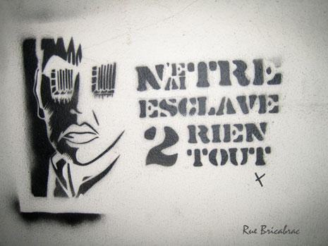 Rue Bricabrac, bdsm, esclave