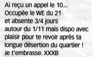 Rue Bricabrac, bdsm, XXXB