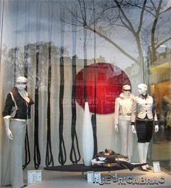 Rue Bricabrac, Zara, cordes, vitrine